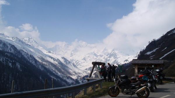 Jarní dávka adrenalinu v Alpách I